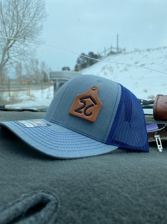 Custom Cattle Brand Cap