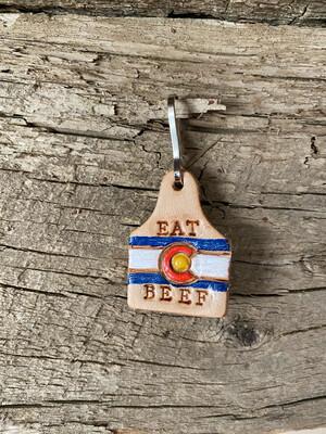 Eat Colorado Beef Cow Tag