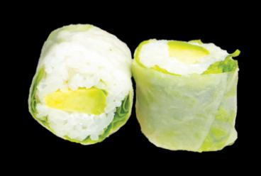Printemps Rolls Avocat (6pcs)