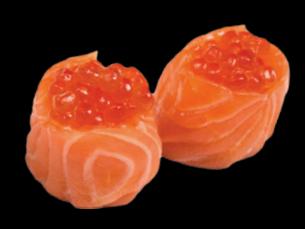 Tulipe Saumon et œuf de saumon (3pcs)