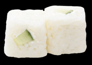 Rice Roll Concombre cheese (6pcs)