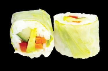 Printemps Rolls Végétarien (6pcs)