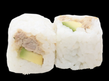 Rice Roll Thon cuit avocat (6pcs)