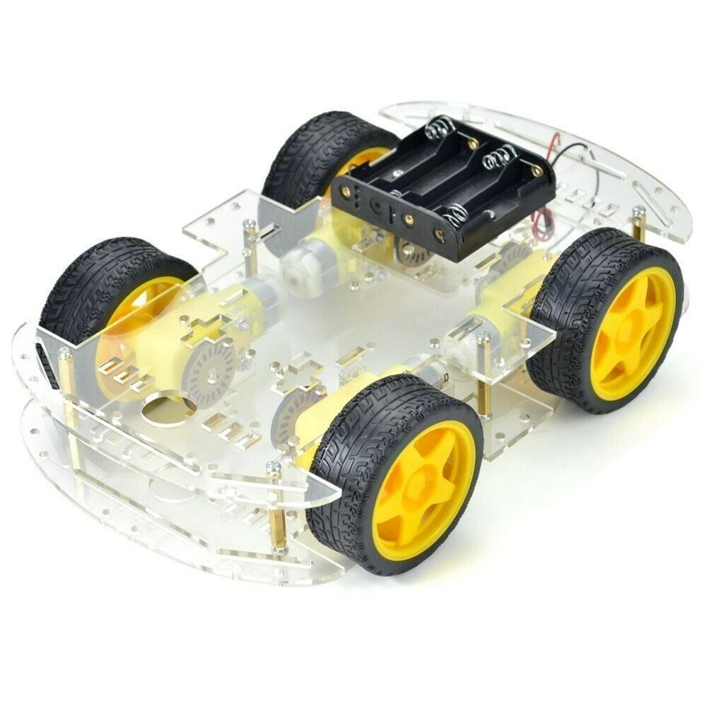 4 WHEEL SMART ROBOTIC VEHICLE CHASIS SET