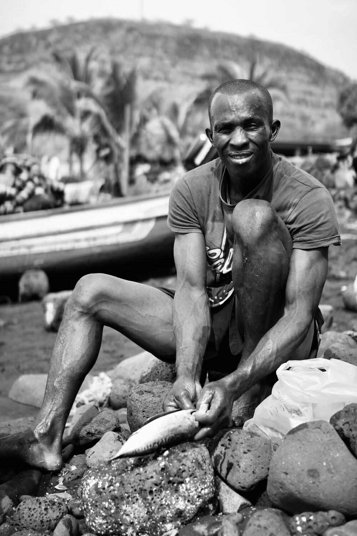 Pêcheur du Cap Vert