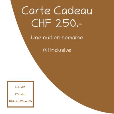 Carte Cadeau 250