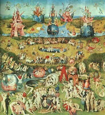 Bosch, Hieronymus - Der Garten der Lüste - Mitteltafel - Museu del Prado, Madrid um 1510