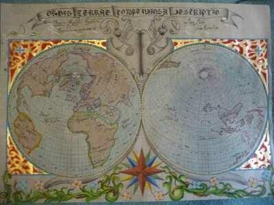 Mapas antiguos.