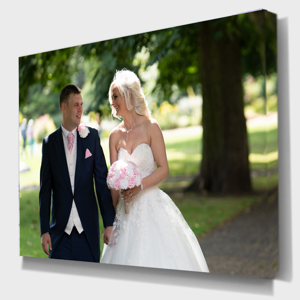 "Your Photo On Canvas 20"" x 16"" (51cm x 41cm) others sizes available"