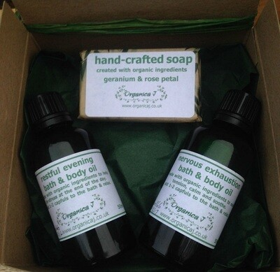 Bathtime Organic Gift Box