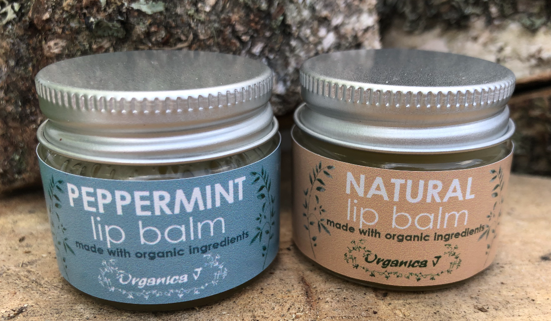 Lip Balm - Natural or Peppermint