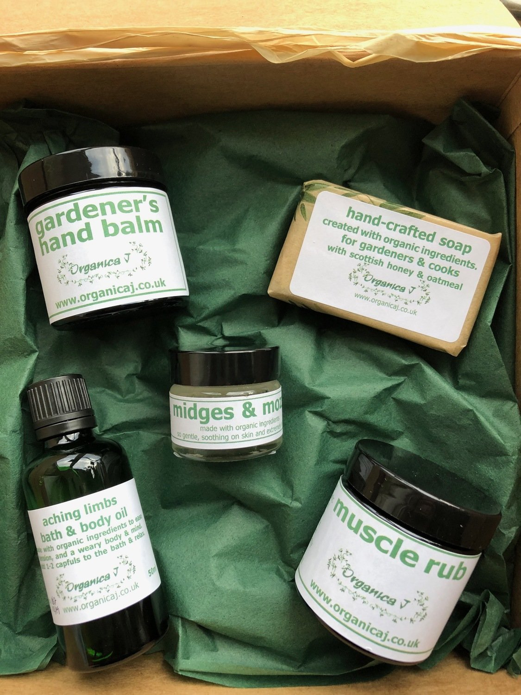 Gardener's Organic Gift Box