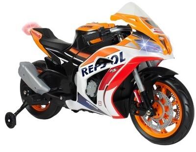 GP Repsol 113 cm 12V Orange Moto électrique pour enfant