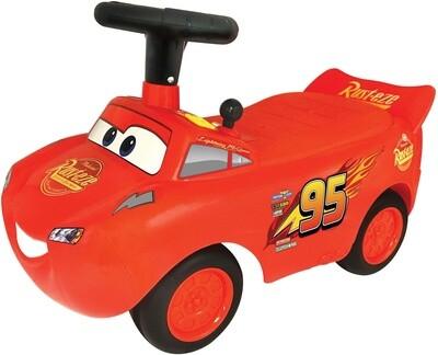 Disney Cars Rouge 56 cm Flash McQueen porteur enfant 12-48 mois