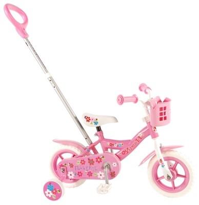 Flowerie rose à marche arrière Vélo fille 10
