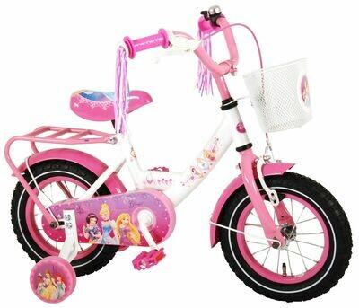 Princesses Disney panier acier freins à rétropédalage Vélo fille 12