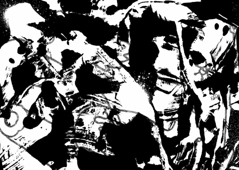 La tentación de San Antonio / 70 cm X 50 cm / Serigrafía