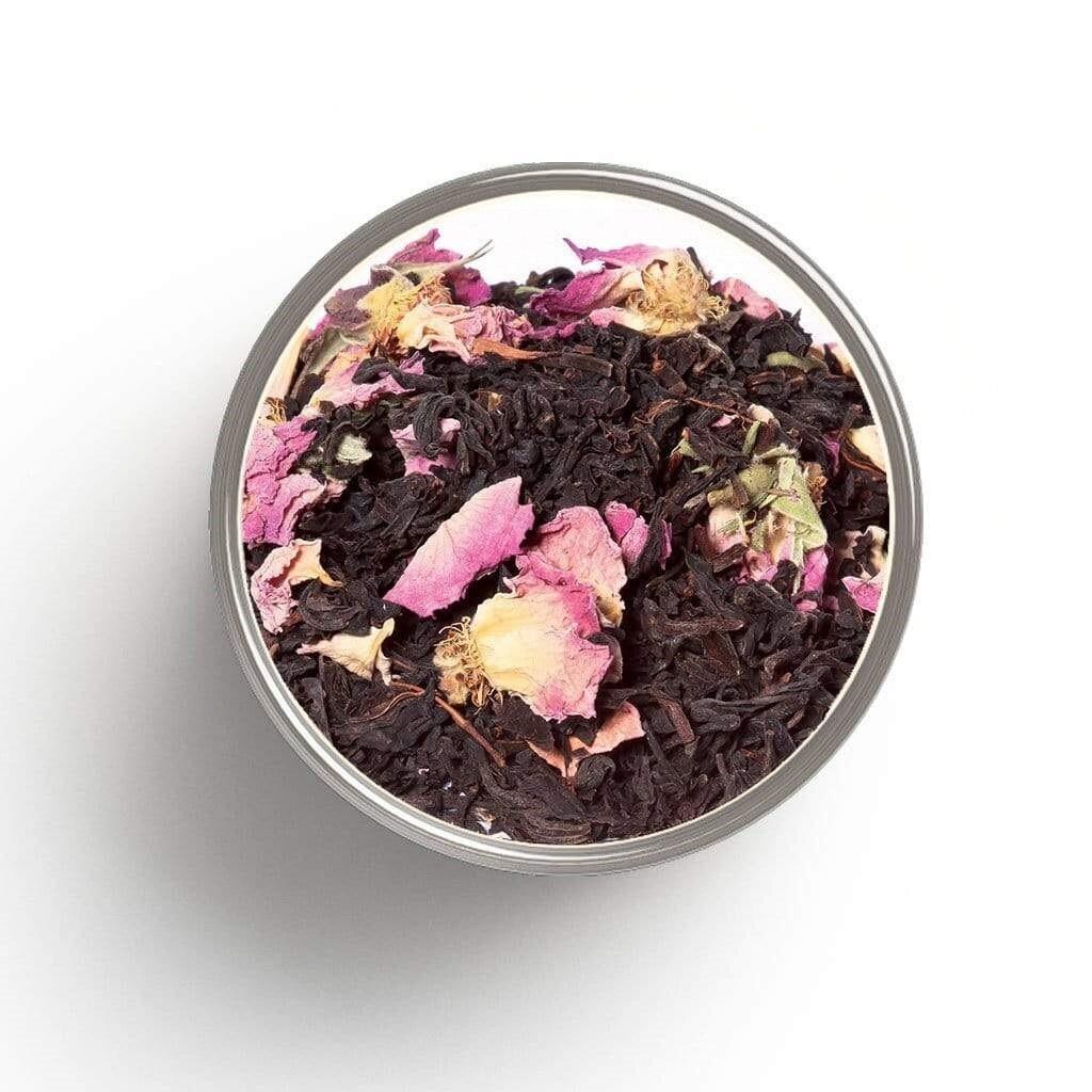 Thé noir à la ROSE bio