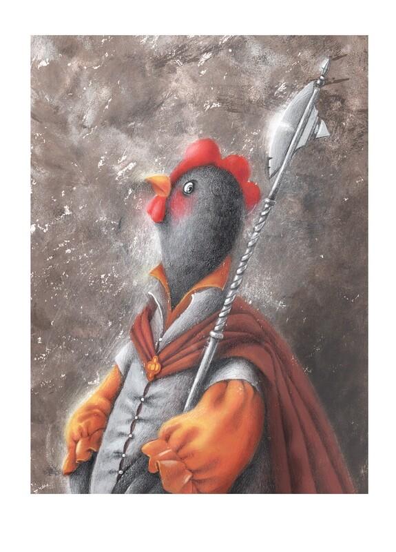 Royalty chicken 4