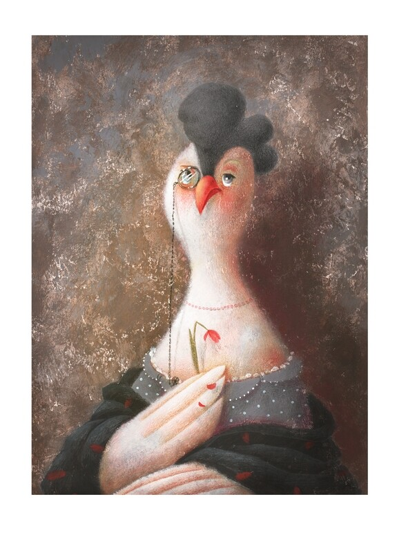 Royalty chicken 5