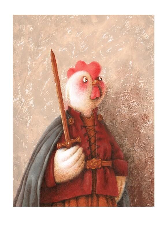 Royalty chicken 2
