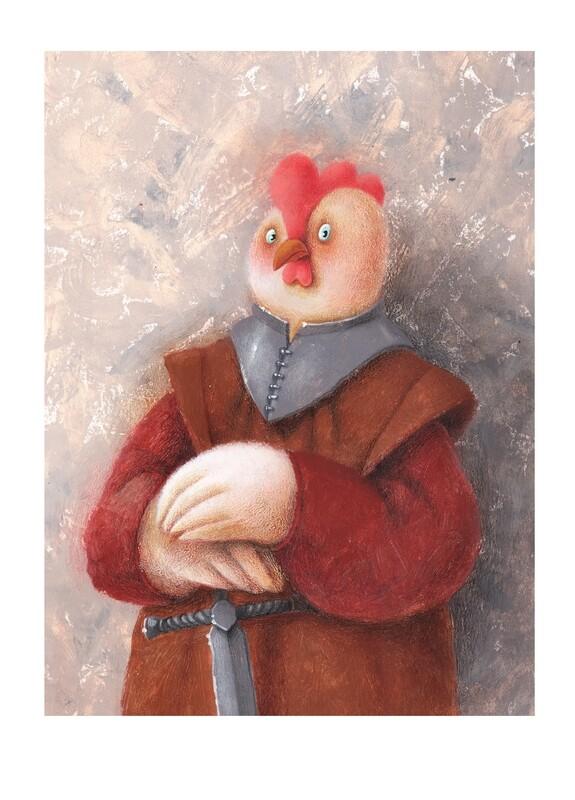 Royalty chicken 3