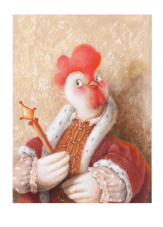 Royalty chicken 8
