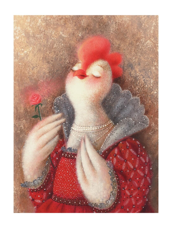 Royalty chicken 7