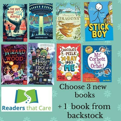 Choose 3 books published in January + one from back stock