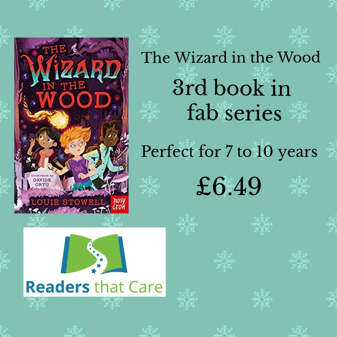 The Wizard in the Wood by Louie Stowell