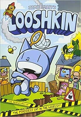 Looshkin Comic by Jamie Smart - Book 1  (slight marks on front covers)