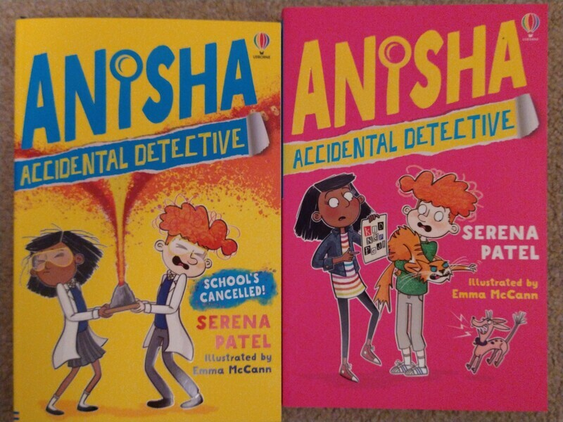 Anisha the Accidental Detective - book 1 and 2 by Serena Patel and Emma McCann