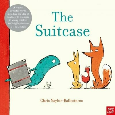 The Suitcase by Chris Naylor-Ballesteros (few  crease marks on cover)