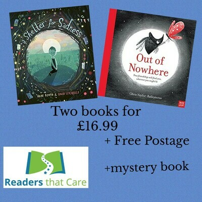 Empathy bundle: Shelter for Sadness and Out of Nowhere + mystery free empathy picture bk