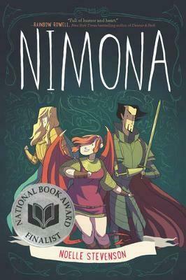 Nimona, graphic novel by Noelle Stevenson.