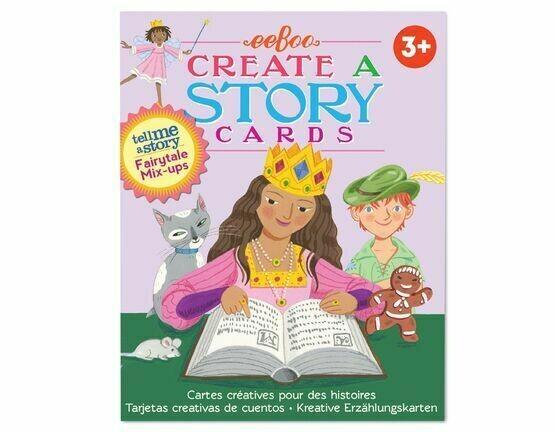 Eeboo Create a Story Cards: Fairy Tale Mix ups