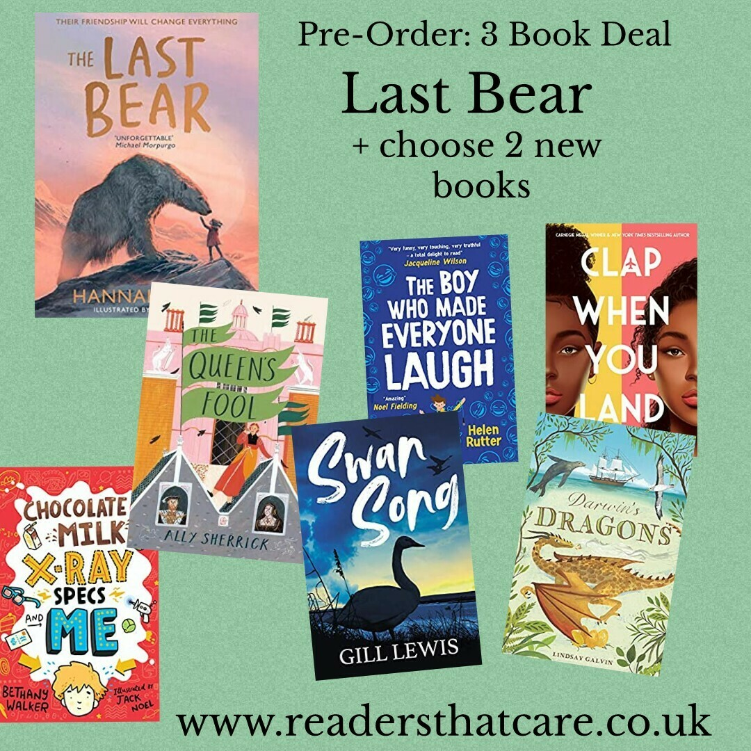 Pre-Order Last Bear + choose 2 new books from selection