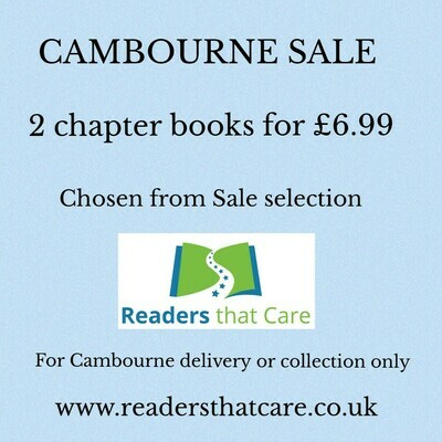 Cambourne SALE: 2 chapter books (chosen from Sale selection)
