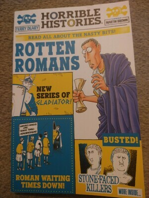Horrible Histories: Rotton Romans (Newspaper edition)