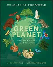 Green Planet : Colours of the World (few marks on cover)