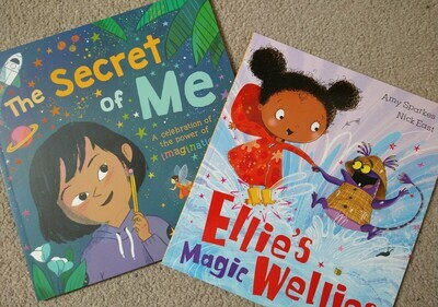 Two book bundle: Secret of Me and Ellie's Magic Wellies
