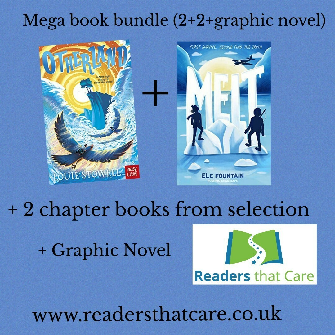 Pre-Order: Mega Book Bundle: Otherland  and Melt + 2 chapter books from selection + graphic novel