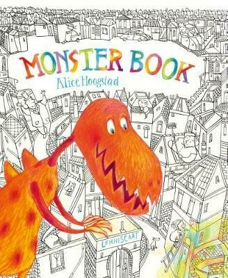 Monster Book (wordless picture book) by Alice Hoogstad
