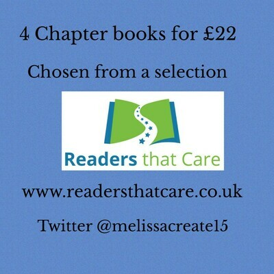 4 Chapter book stories, for 8 to 12 years (chosen from a hand-picked selection)