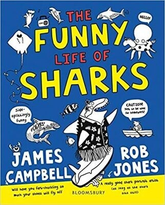 The Funny Life of Sharks, James Campbell, Rob Jones
