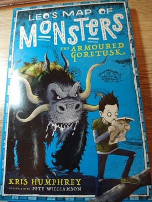 Map of Monsters: The Amoured Goretusk by Kris Humphrey and Pete  Willliamson