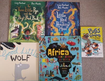Miss S: 5 Book Bundle as pictured