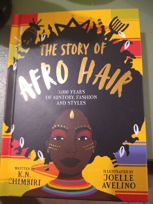 Pre-Order: The Story of Afro Hair
