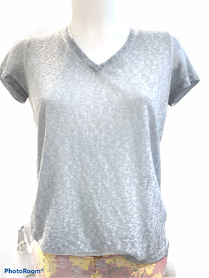 ROCK & RELIGION T SHIRT GRIS