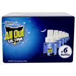 All Out Ultra Mosquito Repellent Refill 45 ml (Pack of 6)